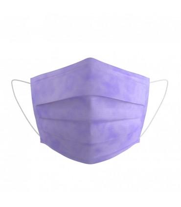 Masque Médical Type IIR - Lilas